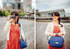 The Schoolgirl and Giveaway! | ketti | handbags | photography