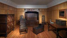 17th century bedroom
