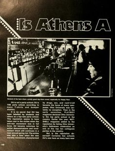 185 Best Retro Athens, Ohio 1970s images   Athens ...