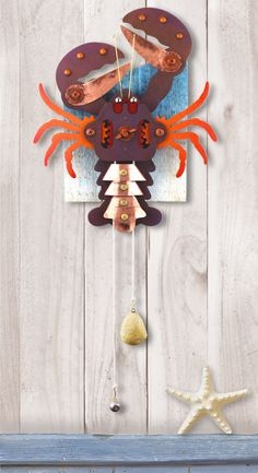 Lobstah! Kinetic folk art by Jim Dixon. www.jimdixonartist.com