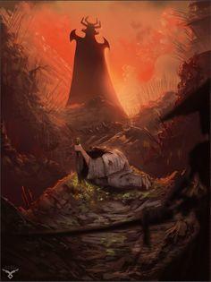 ArtStation - Samurai Jack, Alec Thomas