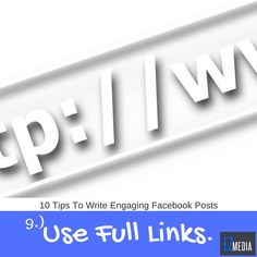 10 Tips to Write Engaging Facebook Posts #9: Visit the link to see the full details. #socialmediamarketing #socialmediamanagement #business #startup #entrepreneur #TGIF