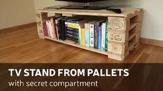 mobile tv pallet - YouTube