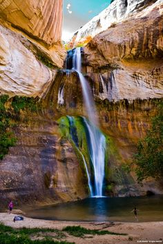 Capitol Reef National Park Camping here in June So Excited National Park Camping, Capitol Reef National Park, Places To Travel, Places To See, Nature Sauvage, Beautiful Waterfalls, Adventure Is Out There, Vacation Spots, The Great Outdoors