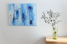 Acrylic Paintings, Abstract Art, Profile, Watch, Link, Artwork, Instagram, User Profile, Clock