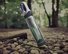 A portable UV water purifier during the day, and a useful camping light at night is what Bottlelight is all about.