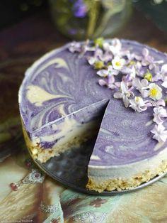 Lilac dream cheesecake