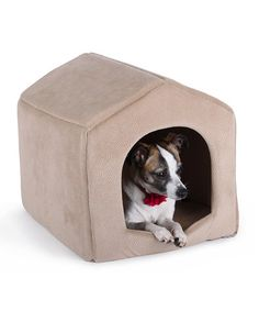 Another great find on #zulily! Wheat 2-in-1 Doghouse/Sofa Pet Bed by Best Friends by Sheri #zulilyfinds