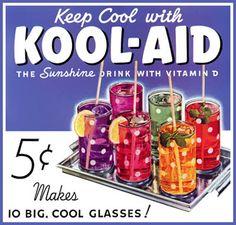 vintage kool-aid ad, purple by Buttons McTavish, via Flickr