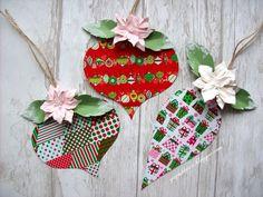 Pomysły na wykorzystanie świątecznej taśmy z Lidla