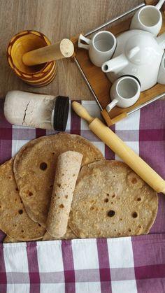 """Comme promis dans l'article """"Lunchbox"""" voici la recette des galettes pour préparer des wraps maison. J'ai acheté plusieurs fois des galettes, car elles dép"""