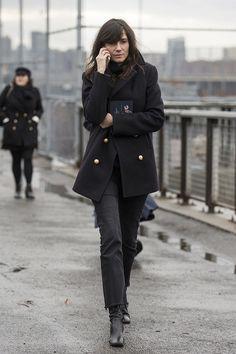 Emmanuelle - Street looks à la Fashion Week de New York