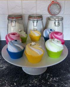 Sock Cupcake | We Make Nappy Cakes