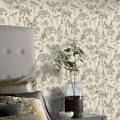 Wallpaper Display, Wallpaper Uk, Wallpaper Paste, Designer Wallpaper, Butterfly Wallpaper, Easy Up, Charcoal Wallpaper, Orange Highlights, Town And Country