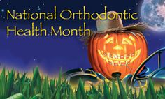 October is National Orthodontic Health Month - Hoosier Homemade Swallowing Problems, Brace Face, Kids Health, Orthodontics, Halloween Candy, Beautiful Smile, Stuff To Do, October