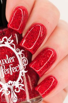 Swatched: Powder Perfect Christmas 2014 Jelly Glitters