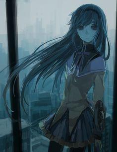 Madoka Magica : Homura Akemi Love her character♡