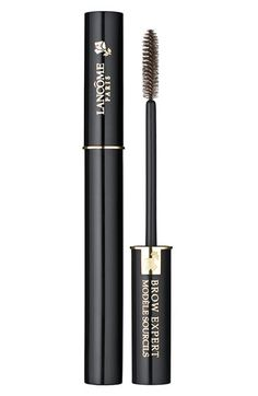 Lancôme 'Modèle Sourcils' Brow Groomer at Nordstrom.com. This unique, lightweight gel brushes on brilliantly and holds brows perfectly in place. Formulated to work alone or over brow pencil. Gives your brows a natural, well-groomed look.  Brush on brows in upward strokes. Can be used alone or over brow pencil.
