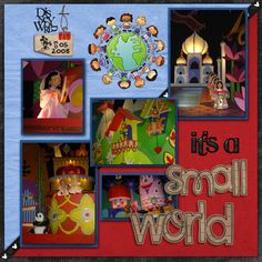 It's A Small World - Page 3 - MouseScrappers.com