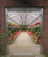 Visiting Rockefeller Park Greenhouse in Cleveland Ohio: Cleveland Greenhouse at Christmas