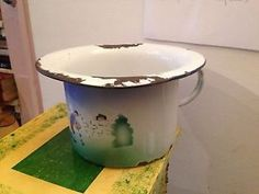 Vintage 1800 s early 1900 s potty chair with ceramic - Pot de chambre antique ...