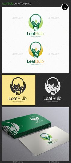 A logo template with energy/nature accent. Perfect for energy related projects, healthy product promotion, clean living, nature lo