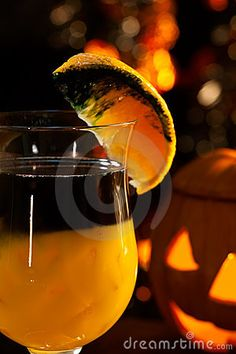 halloween alcoholic punch | ... Pumpkin Cocktail, black vodka, orange juice - Halloween drinks series