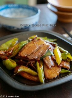 {Recipe} Sichuan Double Cooked Pork Belly 回鍋肉