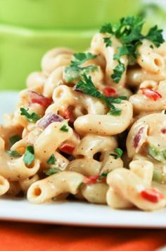 My All-Time Favorite Macaroni Salad With A Creamy Sweet Southern Dressing!
