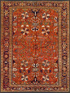 Persian Heriz Oriental Rug #38646