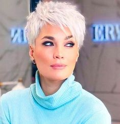 10 attractive short hairstyles for your birthday Punk Hair Attractive birthday frisuren haare haarschnitt Hairstyles kur Short Funky Short Hair, Super Short Hair, Short Brown Hair, Short Hair Cuts For Women, Short Hairstyles For Women, Short Hair Styles, Short Choppy Hair, Short Cuts, Short Pixie Haircuts