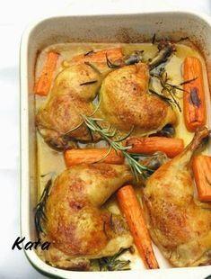KataKonyha: Rozmaringos-fokhagymás csirkecomb