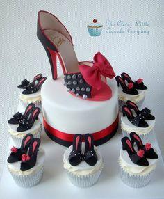Louboutin Shoe Cake - by CleverLittleCupcake @ CakesDecor.com - cake decorating website