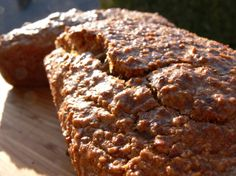 "One pinner says, ""My favorite almond bread recipe for the GAPS diet. This nut bread is gluten-free, grain-free, easy to make and delicious. Gaps Diet Recipes, Real Food Recipes, Yummy Food, Bread Maker Recipes, No Bread Diet, Almond Bread, Allergy Free Recipes, Food Allergies, Crackers"