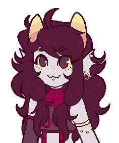 Bloodswap Nepeta<== LOOK AT DEM HAIR SPARKLES, YOU SO CUTE :33!!
