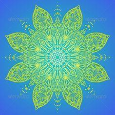 Vector Illustration of Mandala Design