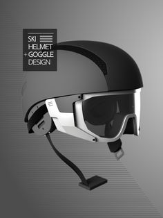 6925ae26f5ac Ski Helmet + Goggle by Hsuan-Tsun
