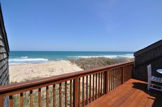 Whispering Sands #7, oceanfront condo in Nags Head. 2 bedrooms, 2 full baths, 1 half bath. Community pool, no smoking, no pets.
