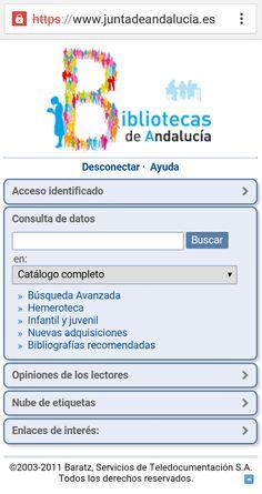 Red de Bibliotecas Públicas de Andalucía La Red, Public Libraries