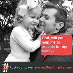 Prayer for provision...  #pray #bible #prayer #inspiration #quote #jesus #typography #design   www.facebook.com/weprayamerica  www.youtube.com/newlifeamerica  www.instagram.com/prayamerica