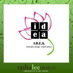 event planner logo // wedding planner logo // tasha lee design