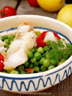 salata de mazare cu peste