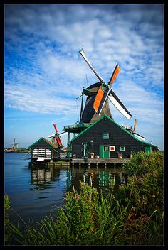 A windmill in the North of The Netherlands. #greetingsfromnl
