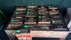 Here is a piece of folk art collection of oxo tins this will be sold with no reserve next Thursday 23rd April at the Brighton Racecourse west pier suite www.brightongeneralauctions.co.uk