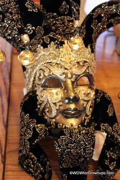 mask from Italy in Epcot at Disney World. I want one so bad!!!!