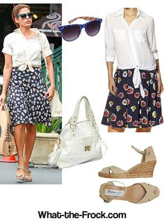 What the Frock? - Affordable Fashion Tips, Celebrity Looks for Less: Celebrity Look for Less: Eva Mendes Style