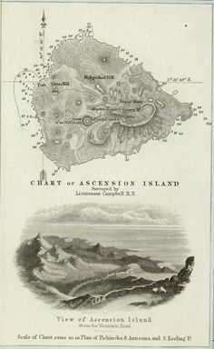 Ascension Island -1856 Ascension Island, British Overseas Territories, Beautiful Places, Amazing Places, Sand Art, Map Design, Cartography, Geography, Mermaids