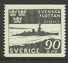 Sverige / Sweden 90 Öre Swedish Navy