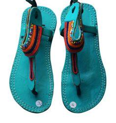 kenya masai sandals images - Google Search