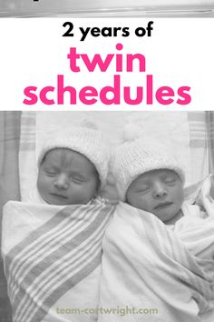 Get your twins on the same schedule and sleeping at the same time with these twin sample schedules! Two year's worth of twin schedules will take you from newborn twins to toddler twins, helping your twins eat at the same time and sleep through the night. 3 nap, 2 nap, 1 nap twin schedules. Newborn twin schedules. Breastfeeding twin schedules. Bottle feeding twin schedules. Twins and a toddler schedule. #twinschedules #twins #newborntwins #toddlertwins #twinsleep Team-Cartwright.com Toddler Twins, Twin Toddlers, Twin Babies, Breastfeeding Twins, Newborn Twins, Baby Twins, Twins Schedule, Toddler Schedule, Twin Tips